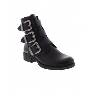 promo code cffe8 43c6f Rieker Z9574-00 Ladies Black Ankle Boots